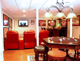 Man Cave Portsmouth : Basement man cave ideas tips for creating a