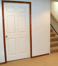 Basement Ceiling Tiles installed in a Massachusetts & New Hampshire refinished basement